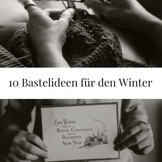 Bastelideen Winter
