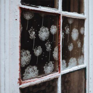 Fensterbilder mit Kreidemarkern gestalten